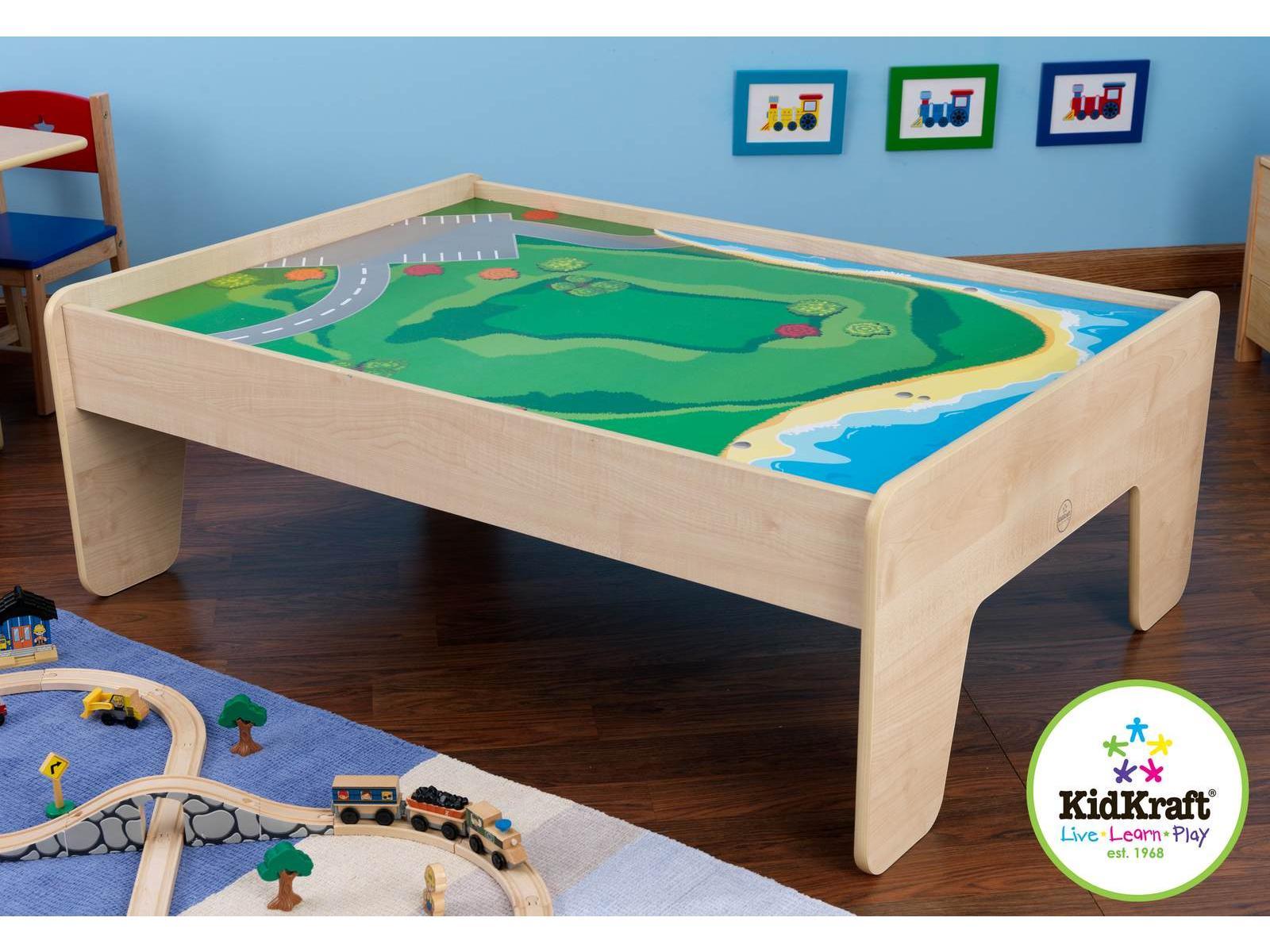 Kidskraft Train Table ... la collection circuits trains en bois kidkraft de la marque kidkraft