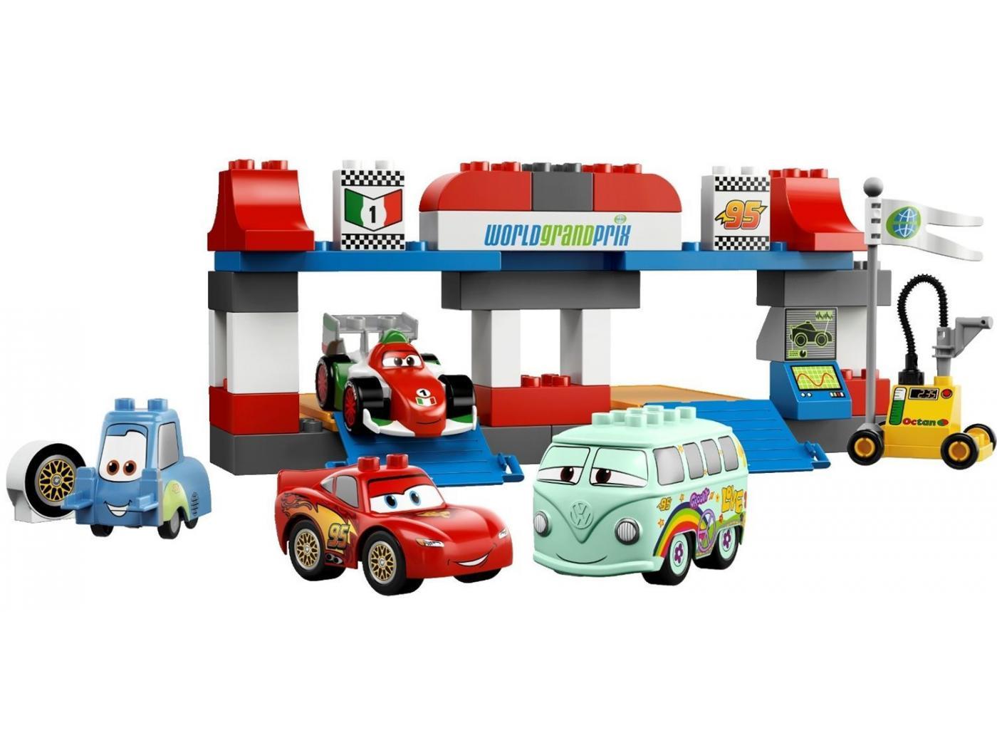 5829 Le Pit Stop LEGO : King Jouet, Lego, planchettes & autres LEGO  Jeux de