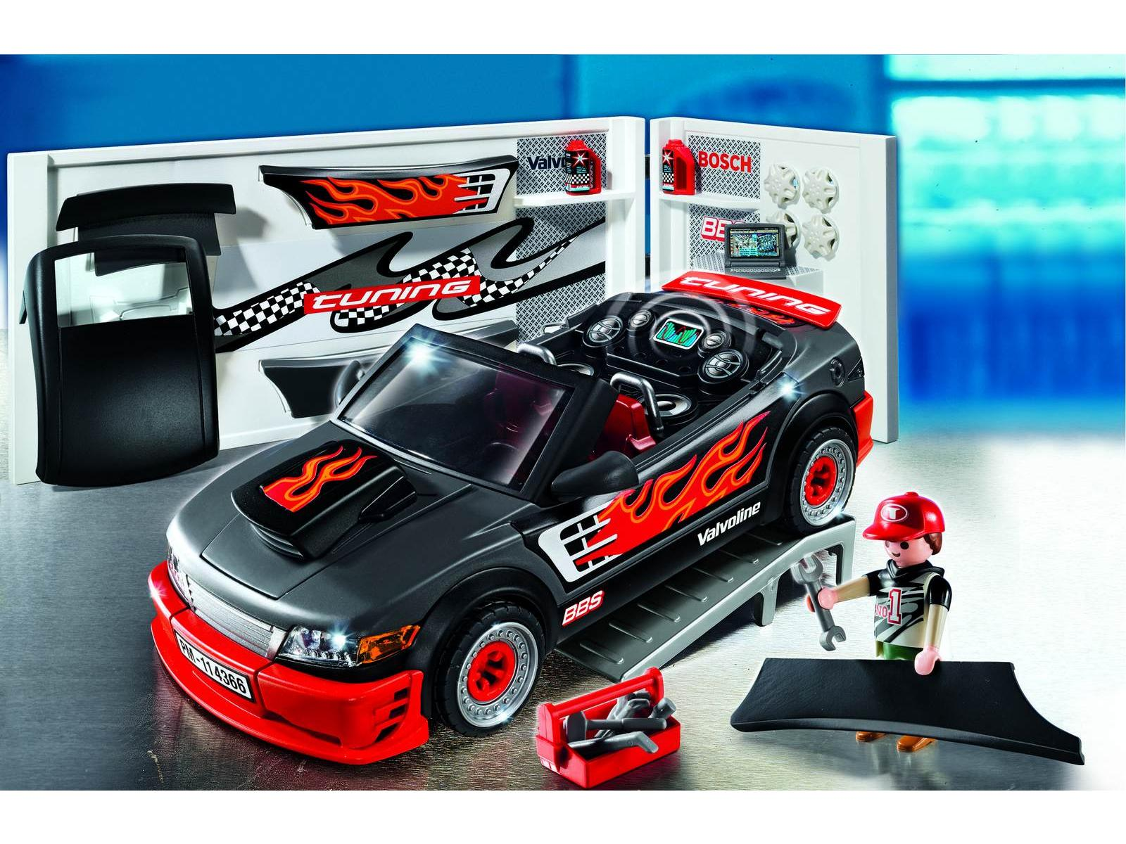 PLAYMOBIL 4366 Voiture tuning avec effets sonores