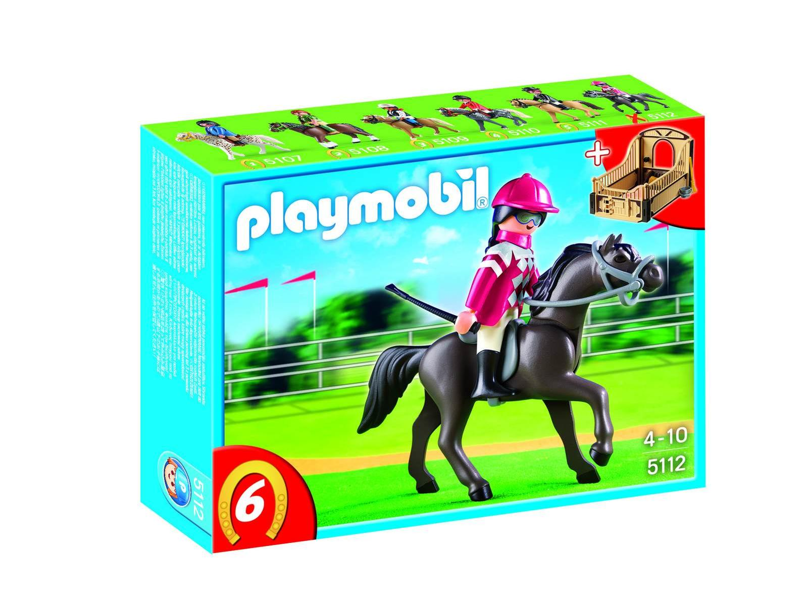 Playmobil Playmobil 5112 : Pur sang arabe et jockey
