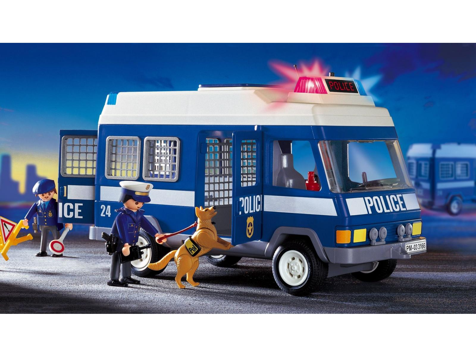 Playmobil 4260 Voiture de police et patrouille Playmobil