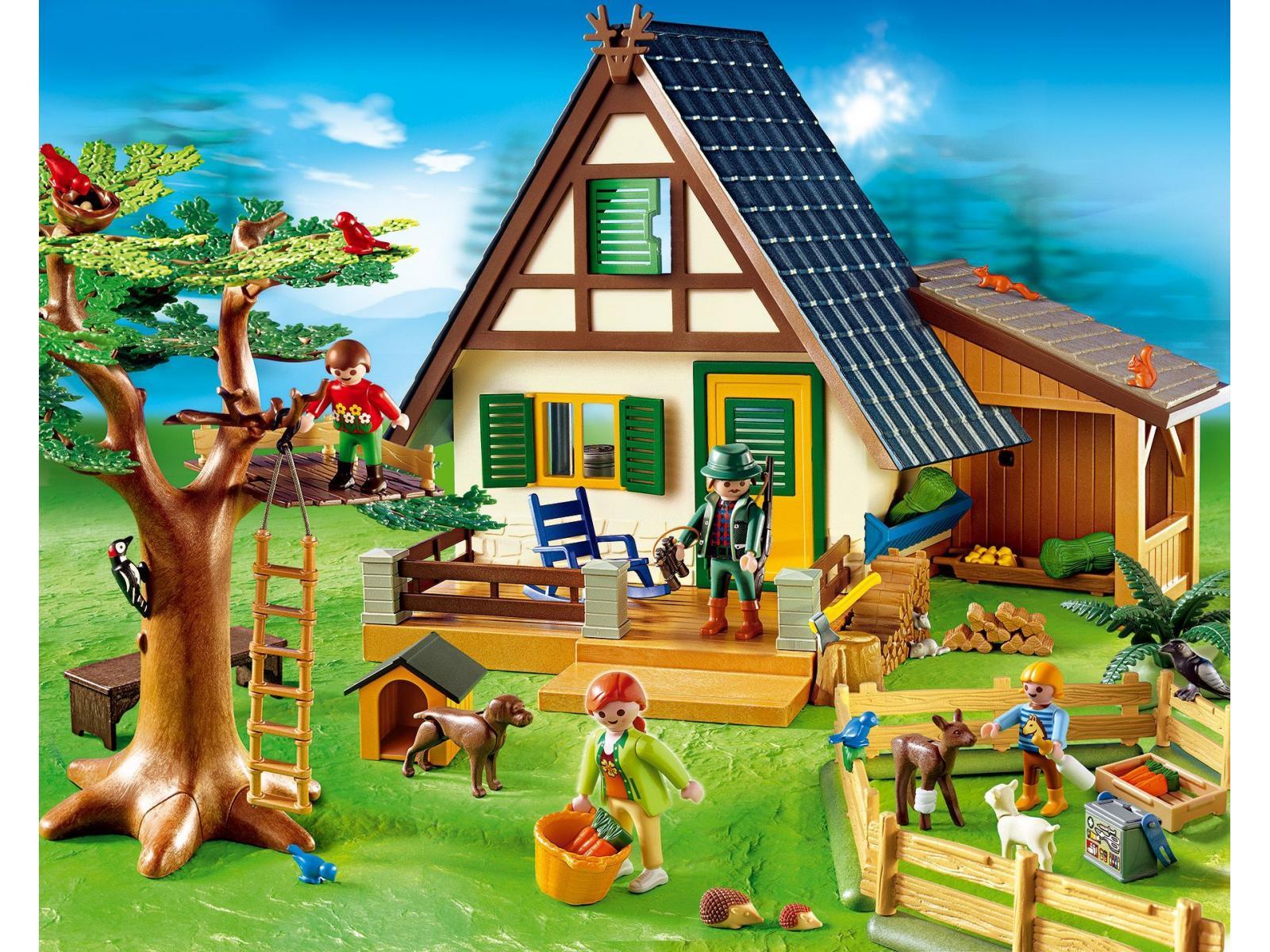 La vie à la ferme maisons des fermiers playmobil maison playmobil