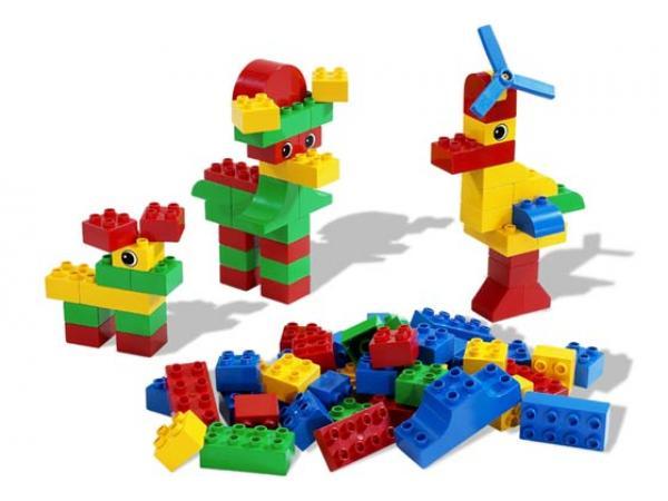 Lego 4085 grand seau de briques duplo - Modele de construction lego ...