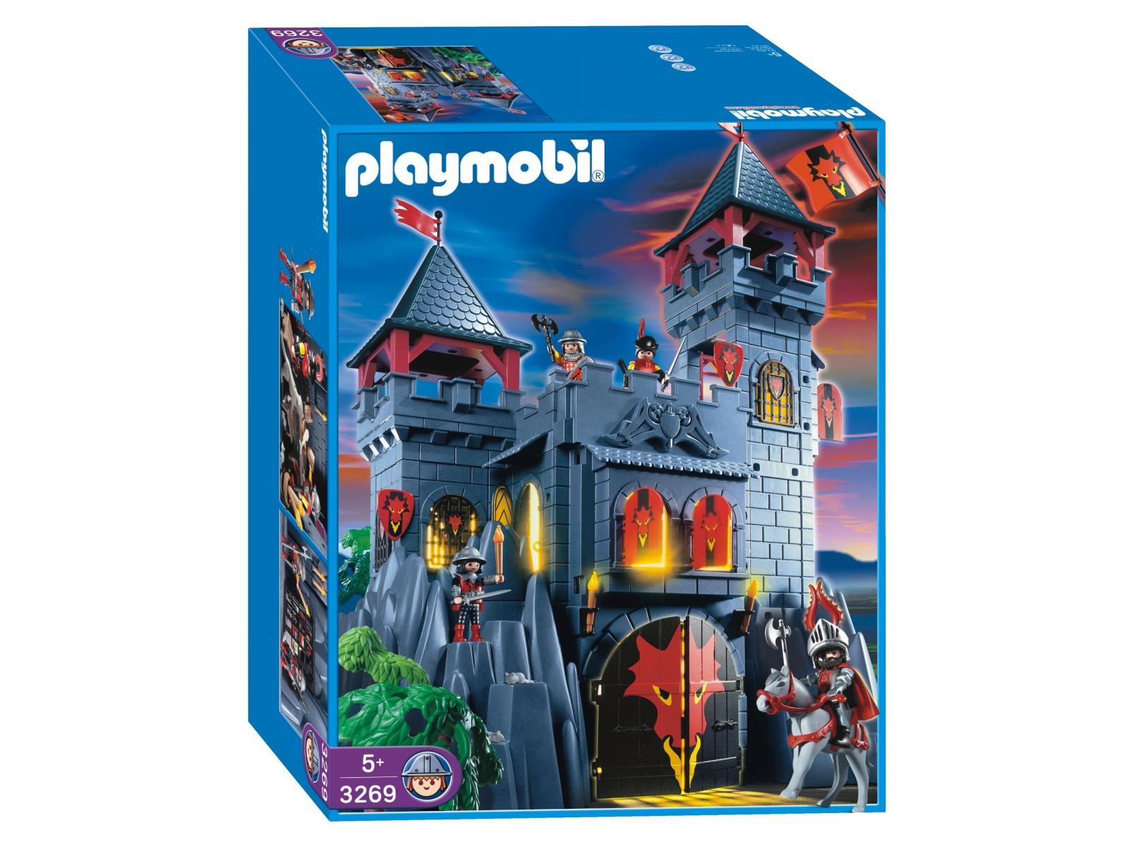 Playmobil - 3269 - Forteresse du dragon rouge