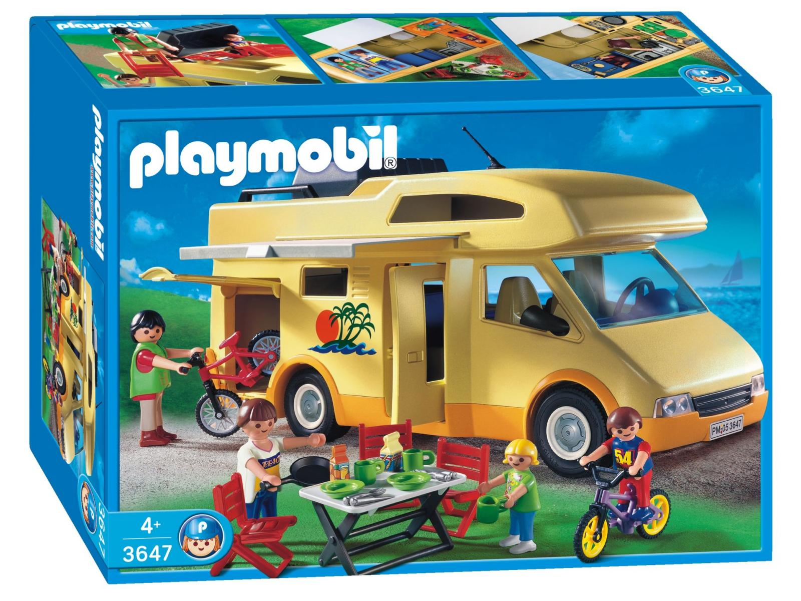 acheter famille avec camping car
