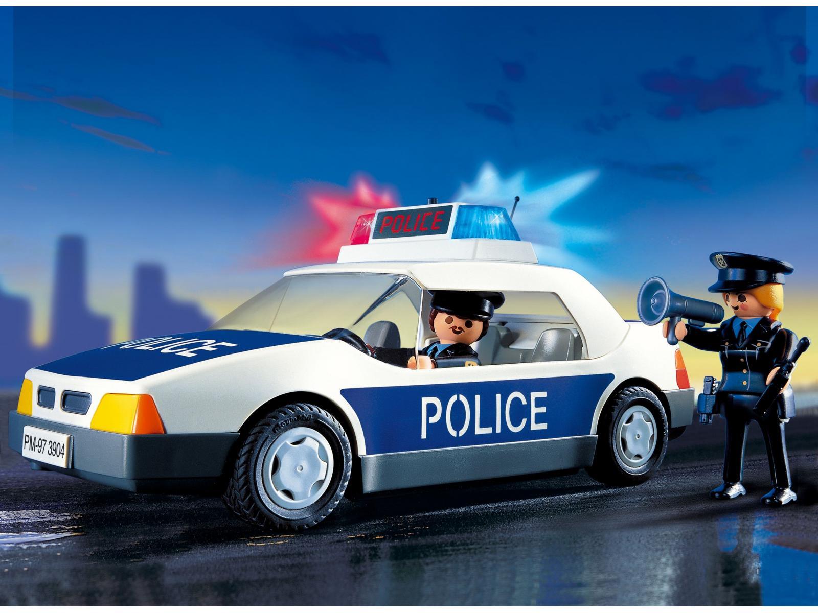 Voiture de police Wallpaper
