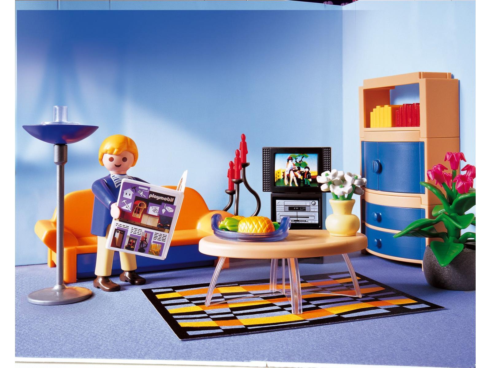Salon Villa Moderne Play Mobil : Playmobil 3965 Casa Moderna Pictures ...