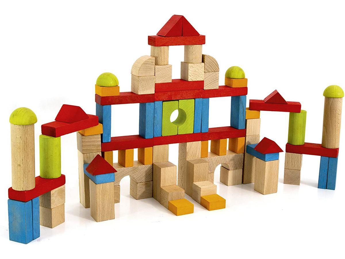 acheter blocs de construction  pieces en bois
