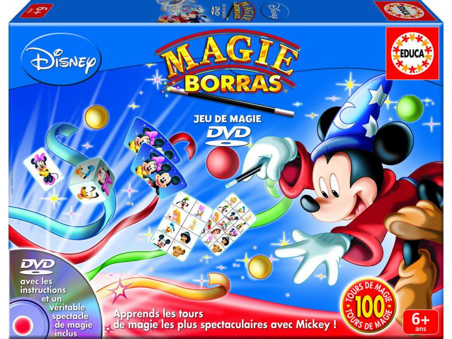 Pics Photos  Jeu De Soci T Coffret Dvd 100 Tours De Magie Mickey Coffret Dvd