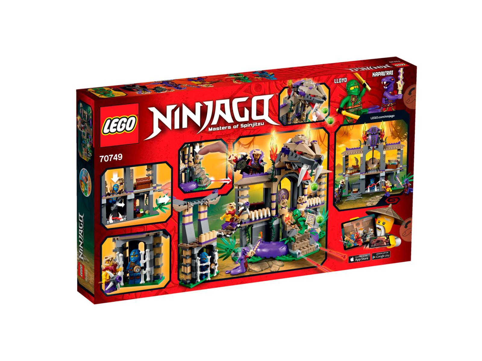 PlayFactory  LEGO Ninjago 70749  Le Temple Anacondra LEGO