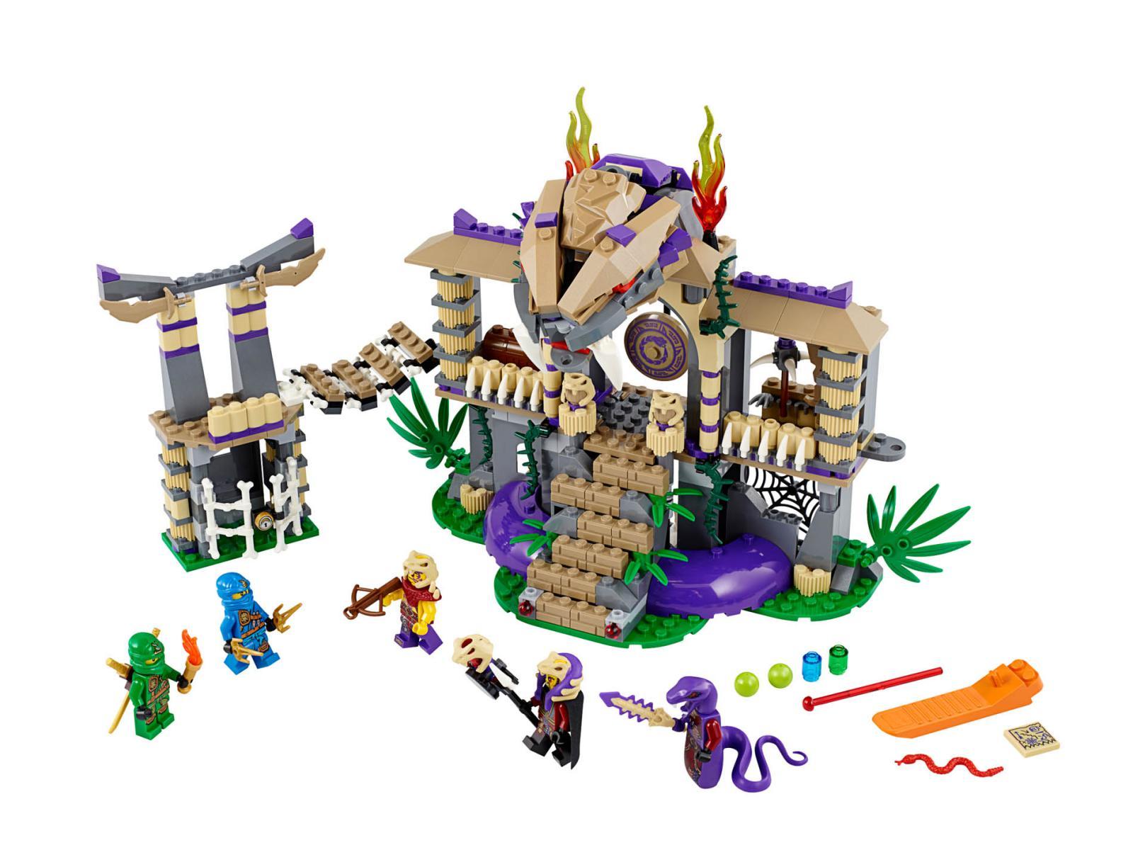 UltraJeux  LEGO Ninjago 70749  Le Temple Anacondra LEGO