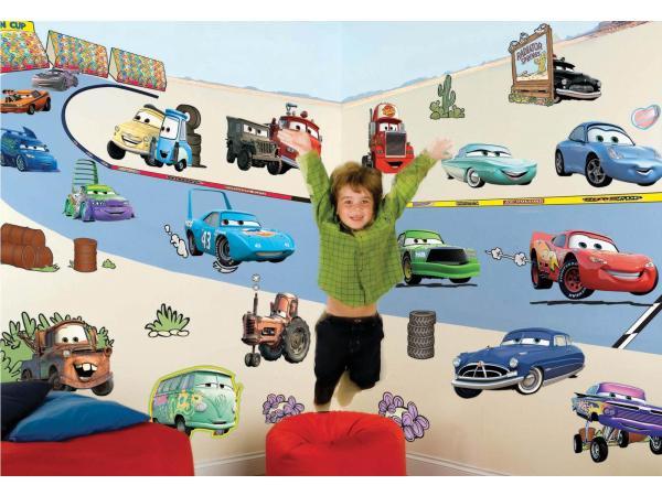 Images correspondant stickers muraux cars disney
