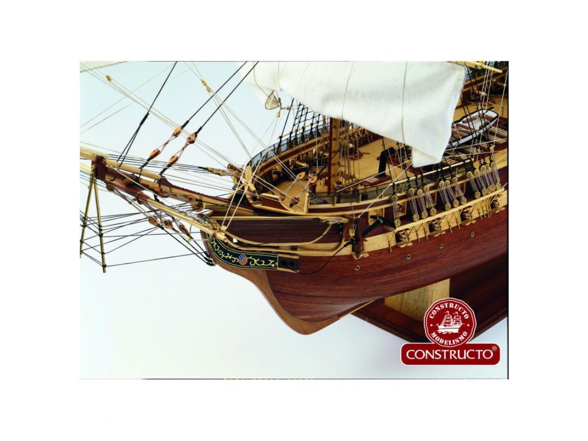Maquette bateau en bois Constructo  La Flore  Coffret construction maquette