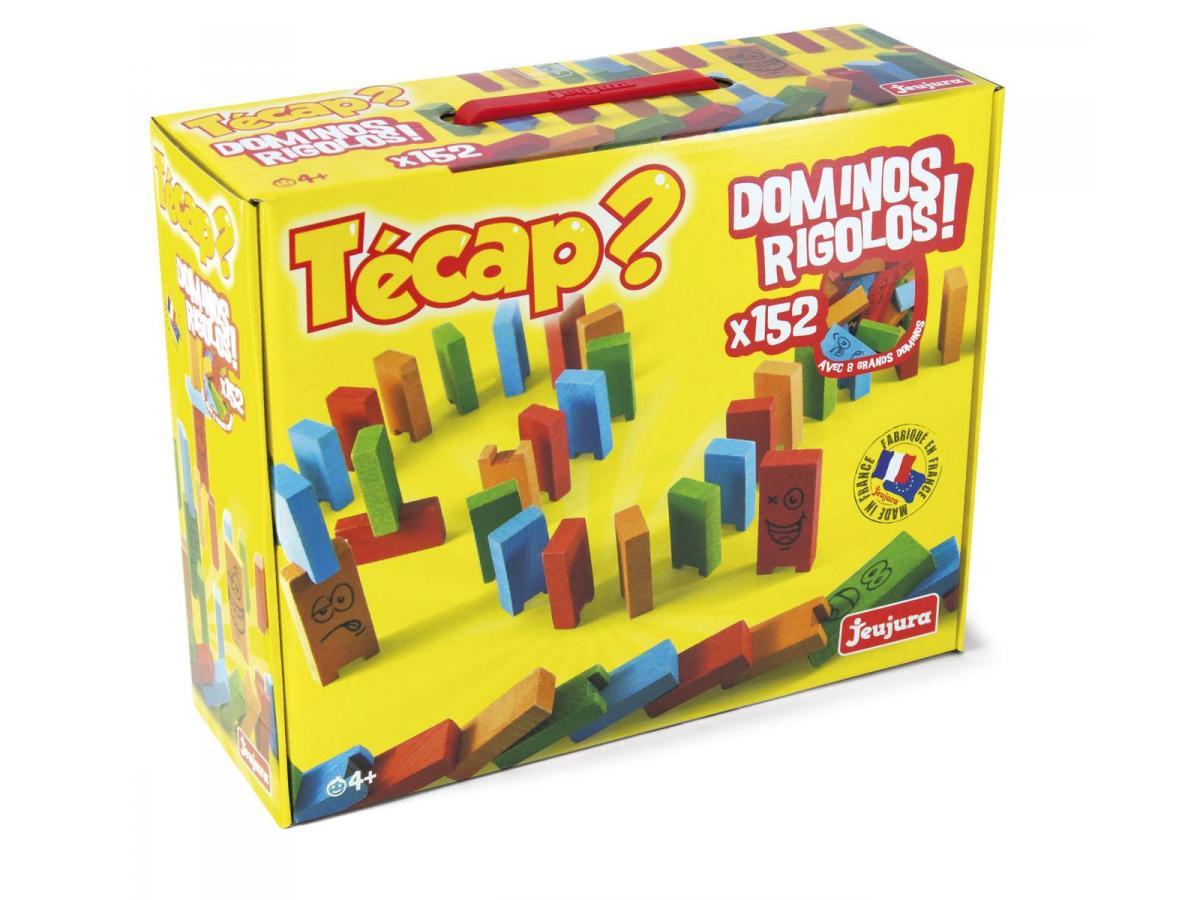 acheter tecap dominos rigolos  pieces x cm